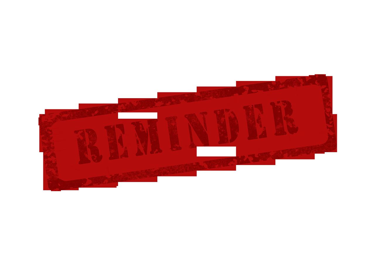 Memory Reminders Reminder PNG.