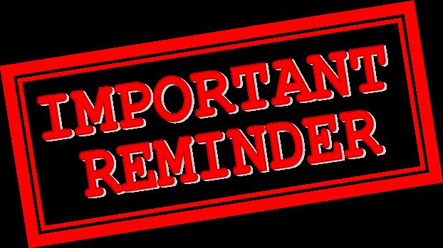 Important Reminder Png & Free Important Reminder.png.