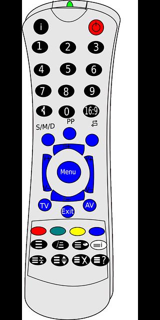 a remote control clip art.