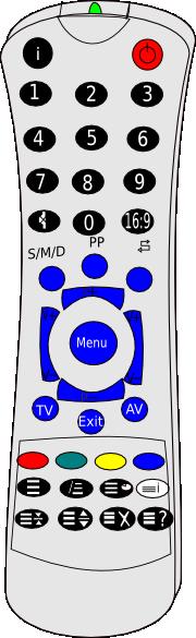 Remote Clipart.