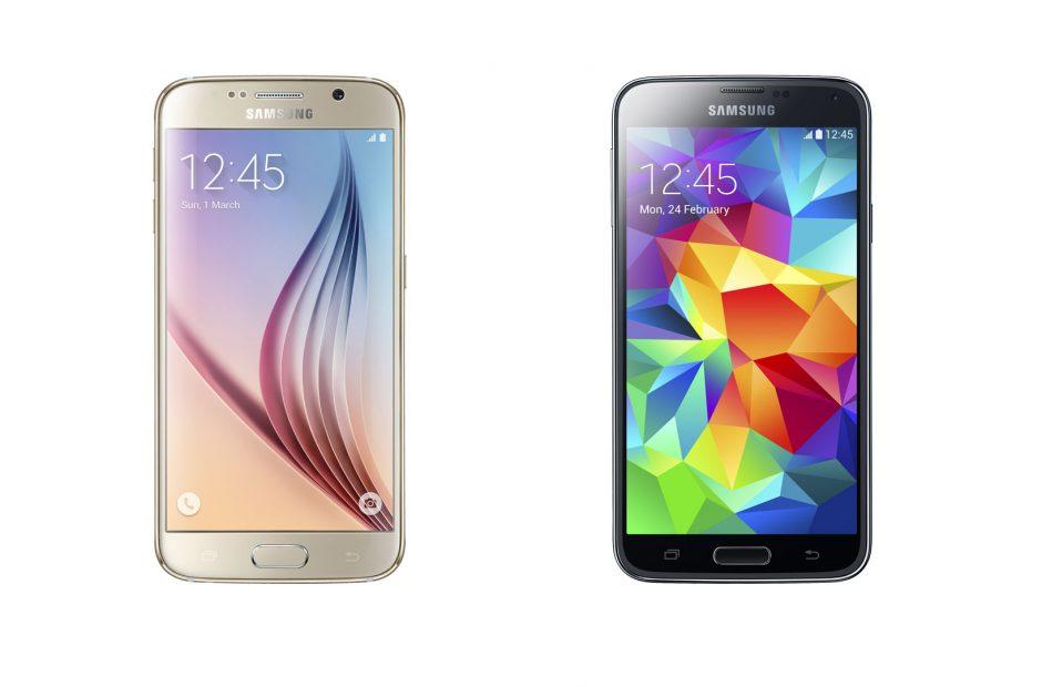 Samsung Galaxy S6 vs Samsung Galaxy S5 Spec Shootout!.