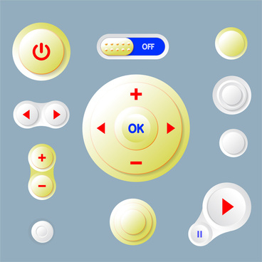 Remote control buttons free vector download (2,318 Free.