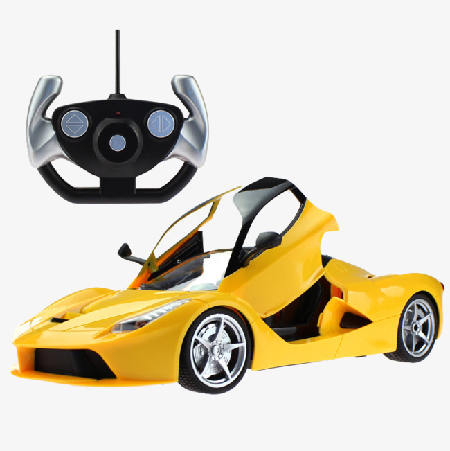 Download Free png Yellow Small Car Remote Control, Car.