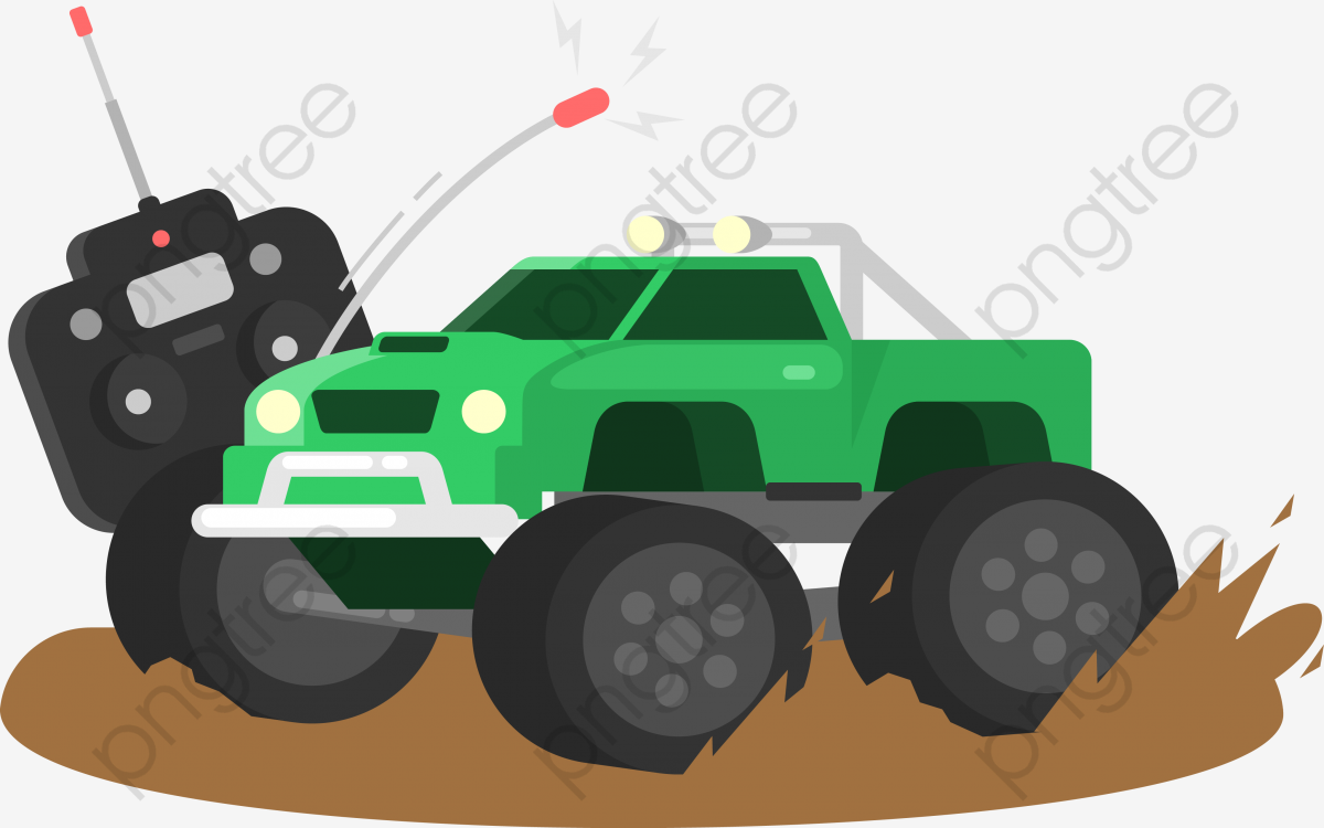 Download Free png In The Mud In The Remote Control Car, Car.