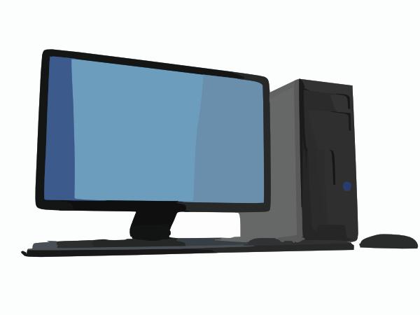 Computer Screen And Desktop Clip Art at Clker.com.