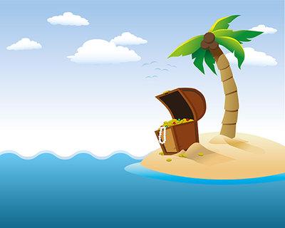 Remote island clipart clipartfest.