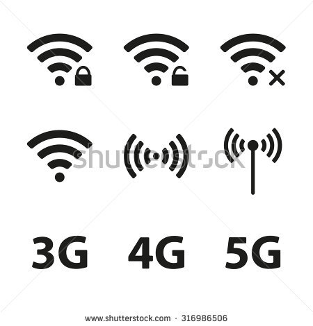 4g Wireless Stock Images, Royalty.