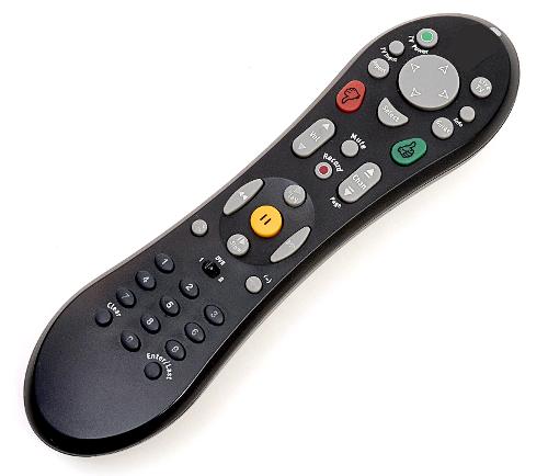 DVR remote.
