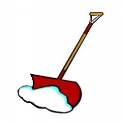 Snow removal clipart.