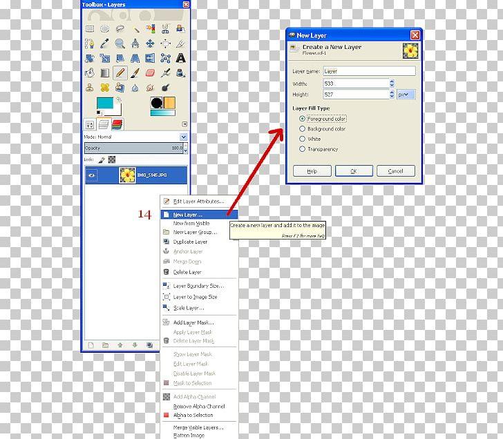 Computer Program GIMP Screenshot Layers Computer Icons PNG.