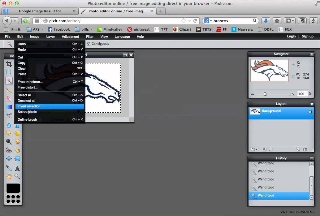 Quick and easy way to remove background from clipart or pictures from the  internet.