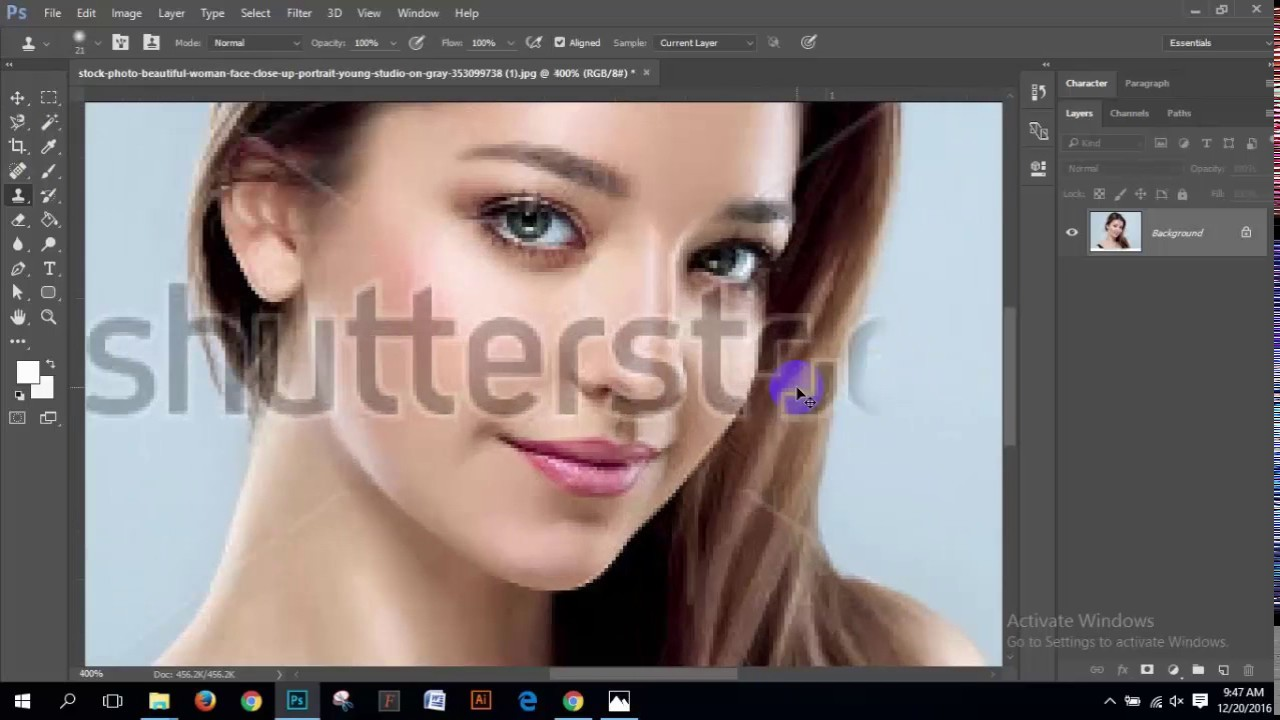 How to remove watermark into any image.