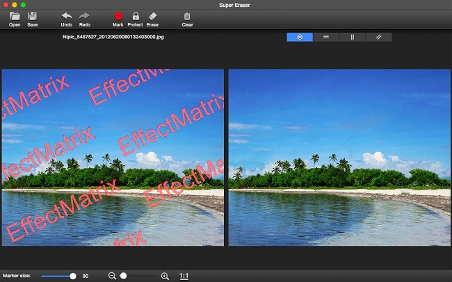 Remove watermark from image for Mac tutorials.