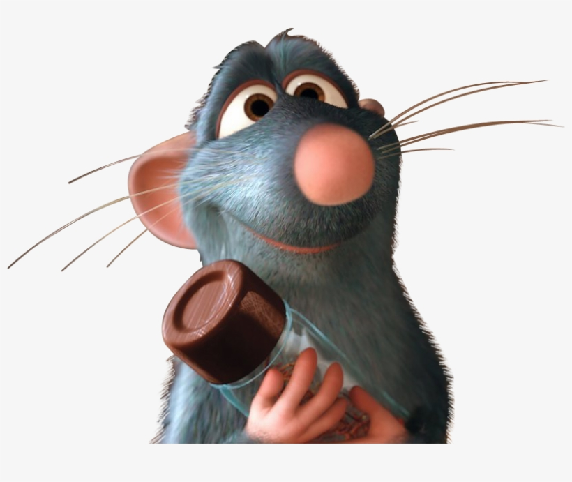 Download Free png Ratatouille Drawing Scene Svg Black And.