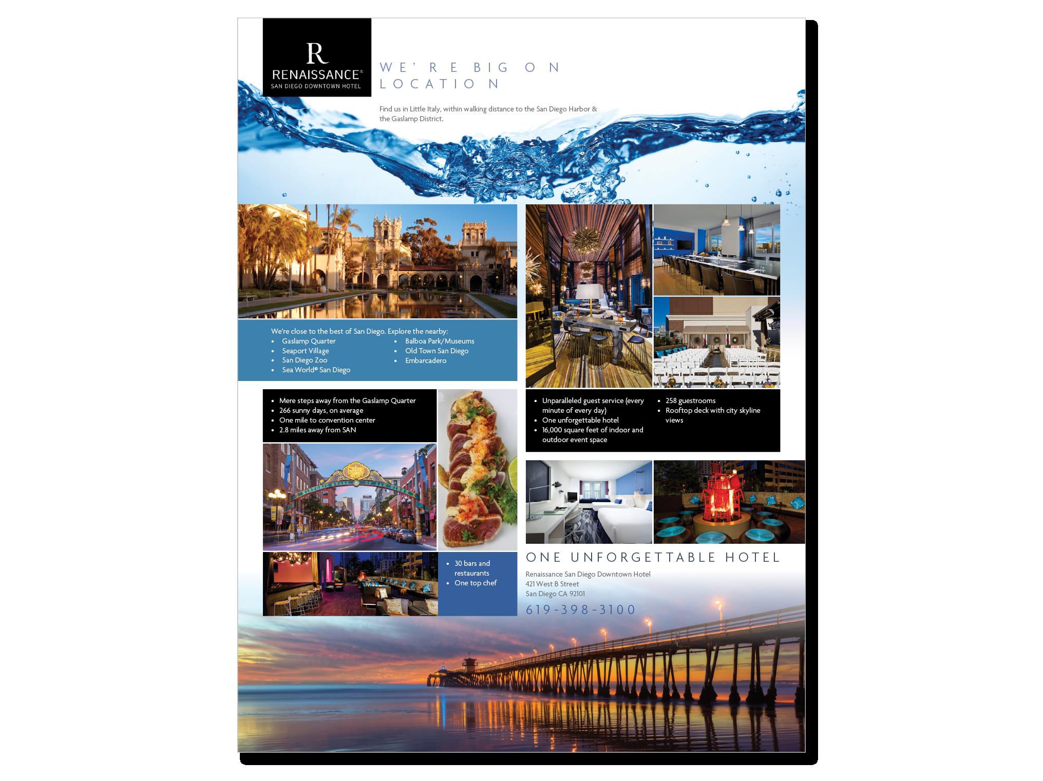 Renaissance Hotel relies on Incite Response Digital Marketing.