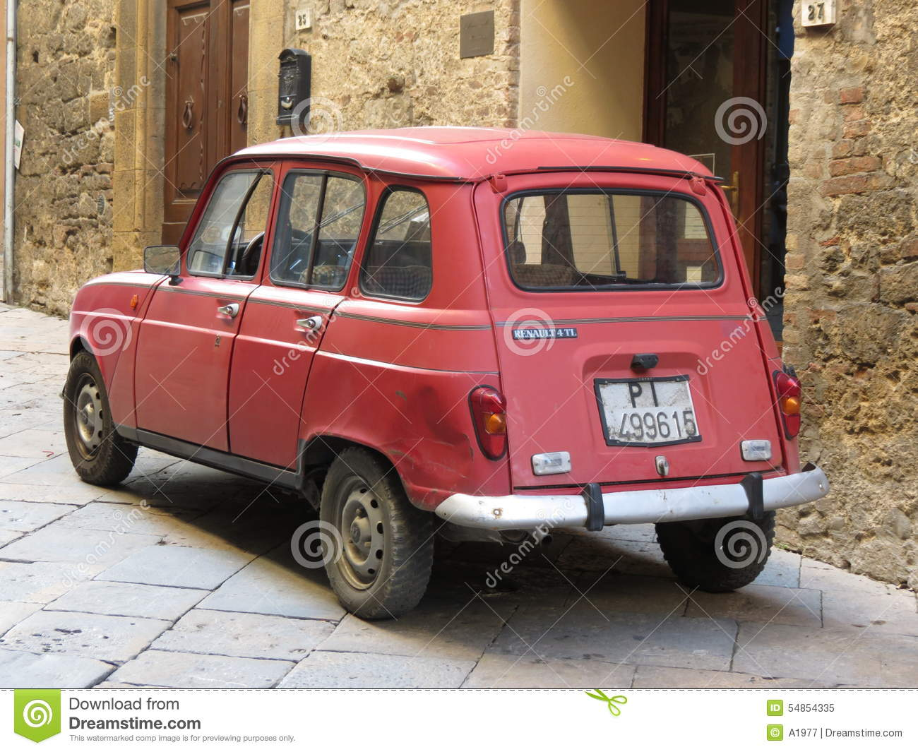 renault r4 clipart