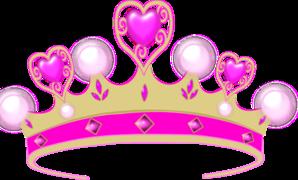princess crown clipart vector #12