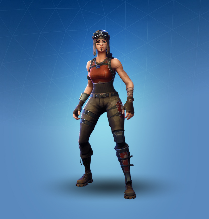 Fortnite Renegade Raider Skin.