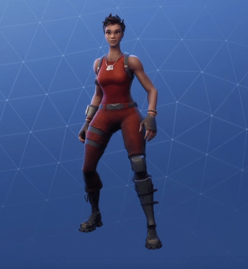 Fortnite Renegade Skin.