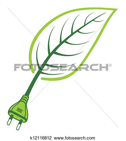 Clipart of Green Power.