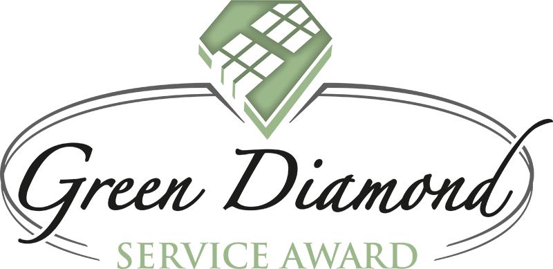 LOGO Green Diamond Service Award 2C.