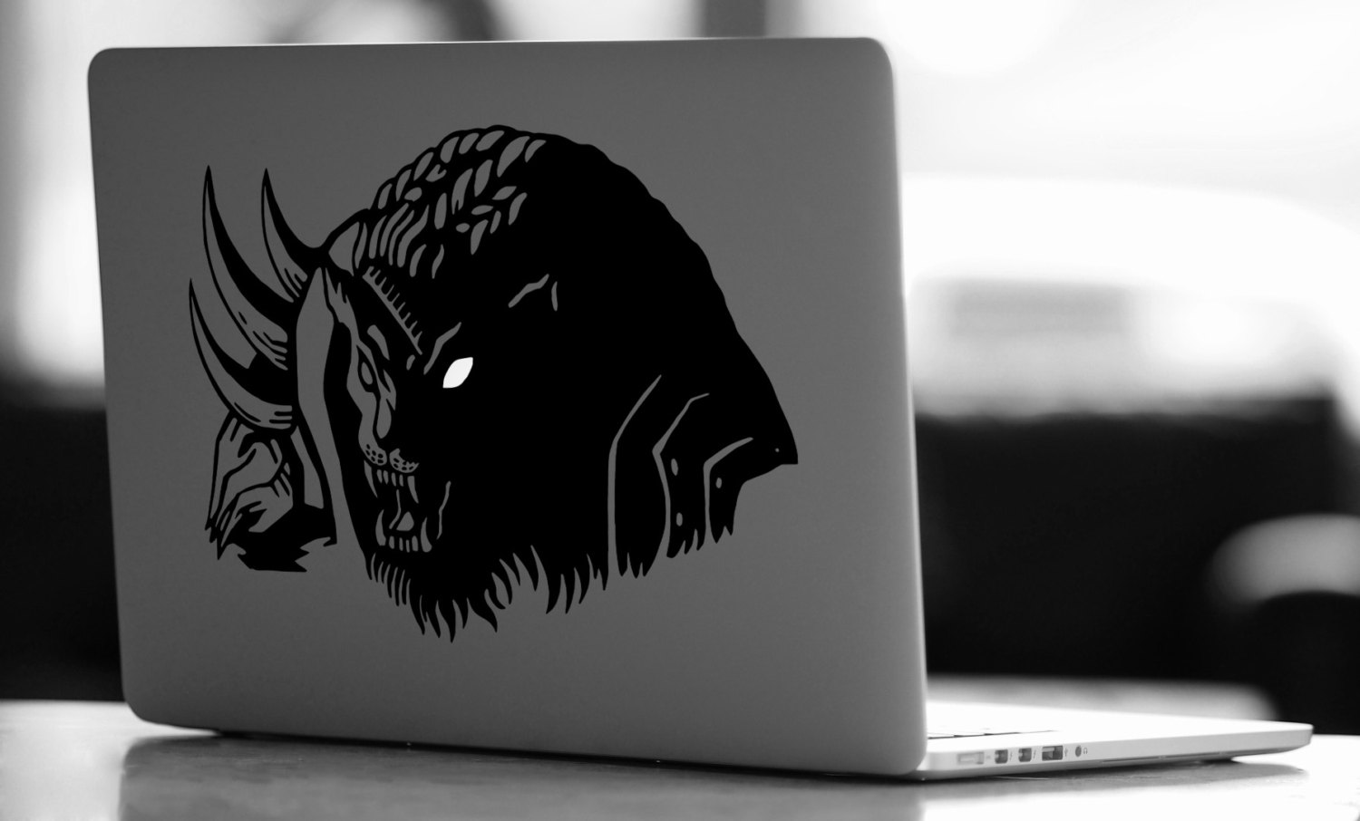 Rengar with glowing eye Vinyl Decal League of Legends Decal.
