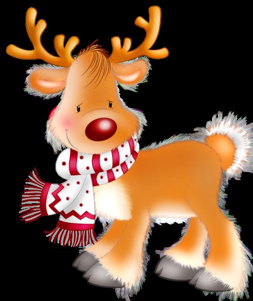 Rudolph Christmas Clipart.