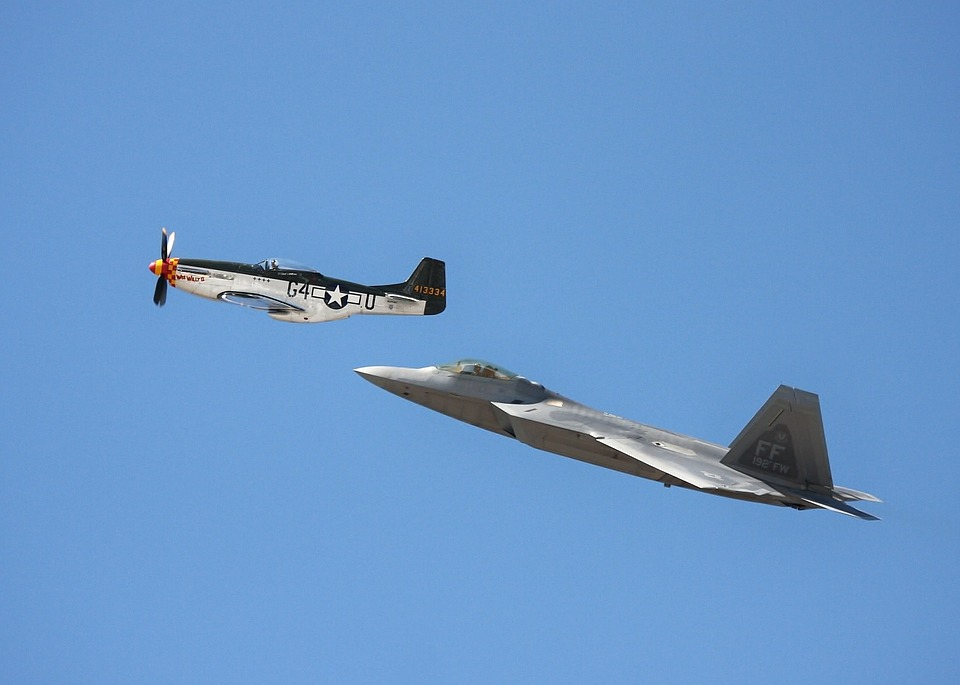 Free photo Airplanes Air Show Military Jets Reno Airshow.