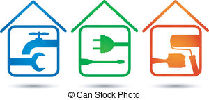Home renovation Vector Clipart Illustrations. 3,776 Home.