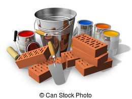 Renovation works clipart #19