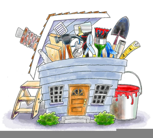 Home Renovations Clipart.
