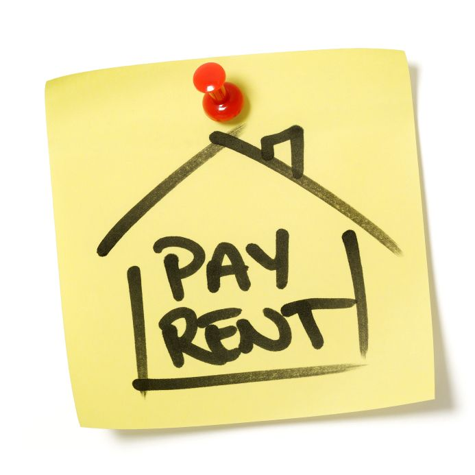 Pay rent clipart.