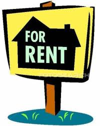 Showing post & media for Apartment for rent clip art cartoon.
