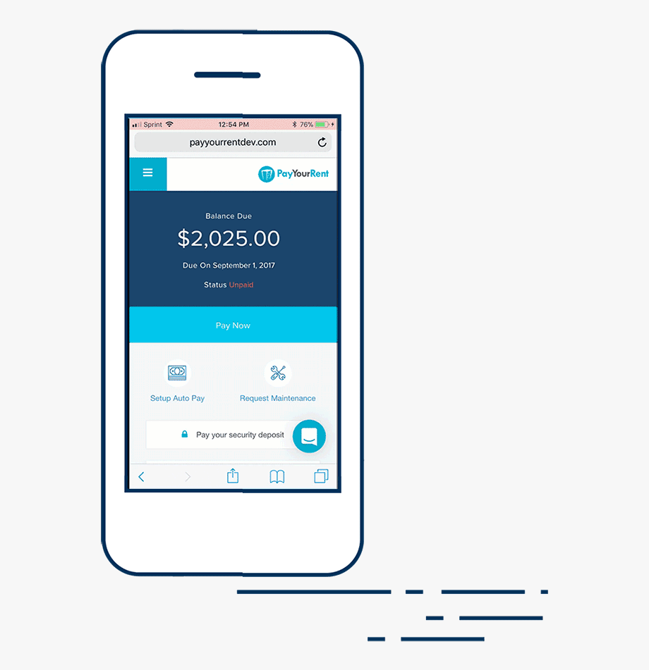 Your Rent Payment Again Thanks To The Payyourrent Mobile.