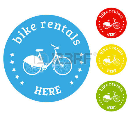997 Rent A Bike Stock Vector Illustration And Royalty Free Rent A.