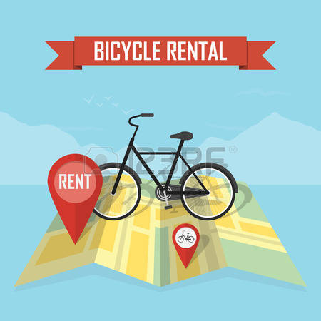 932 Rent A Bike Stock Vector Illustration And Royalty Free Rent A.