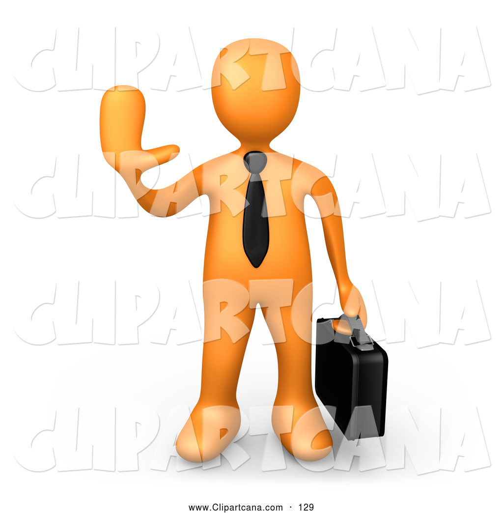 Sales rep clipart.