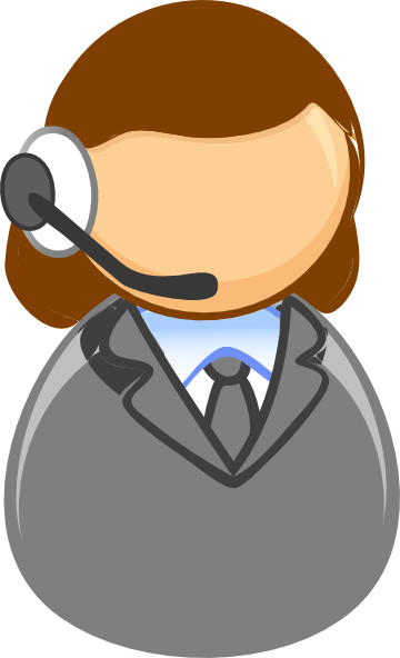 Customer Service Rep Clip Art at Clker.com.