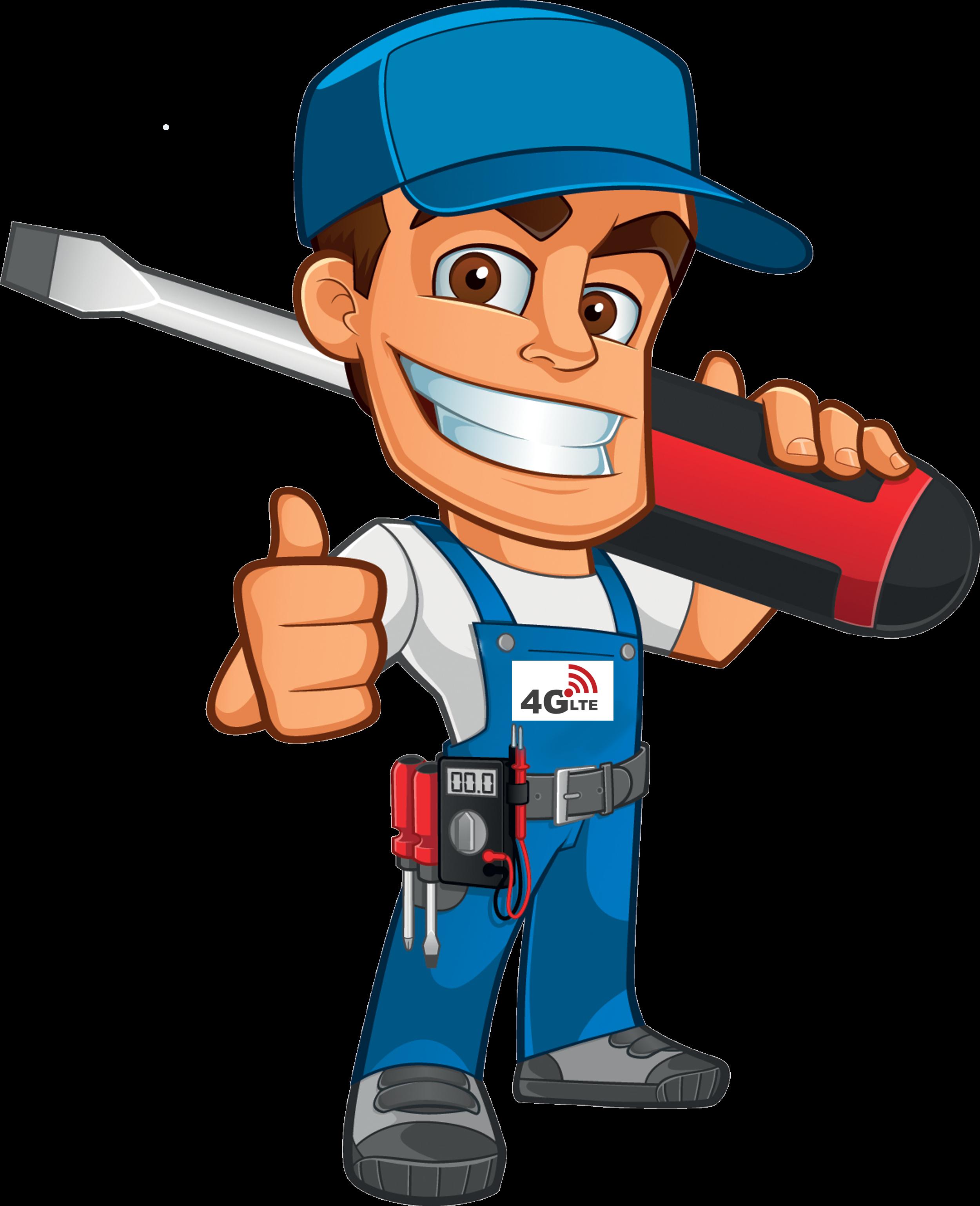 Handyman clipart repair man, Handyman repair man Transparent.