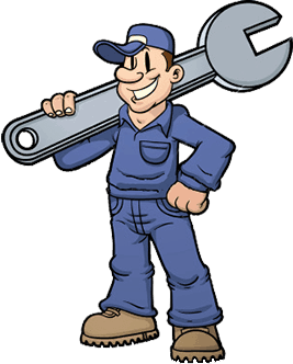 Repairman Clipart.