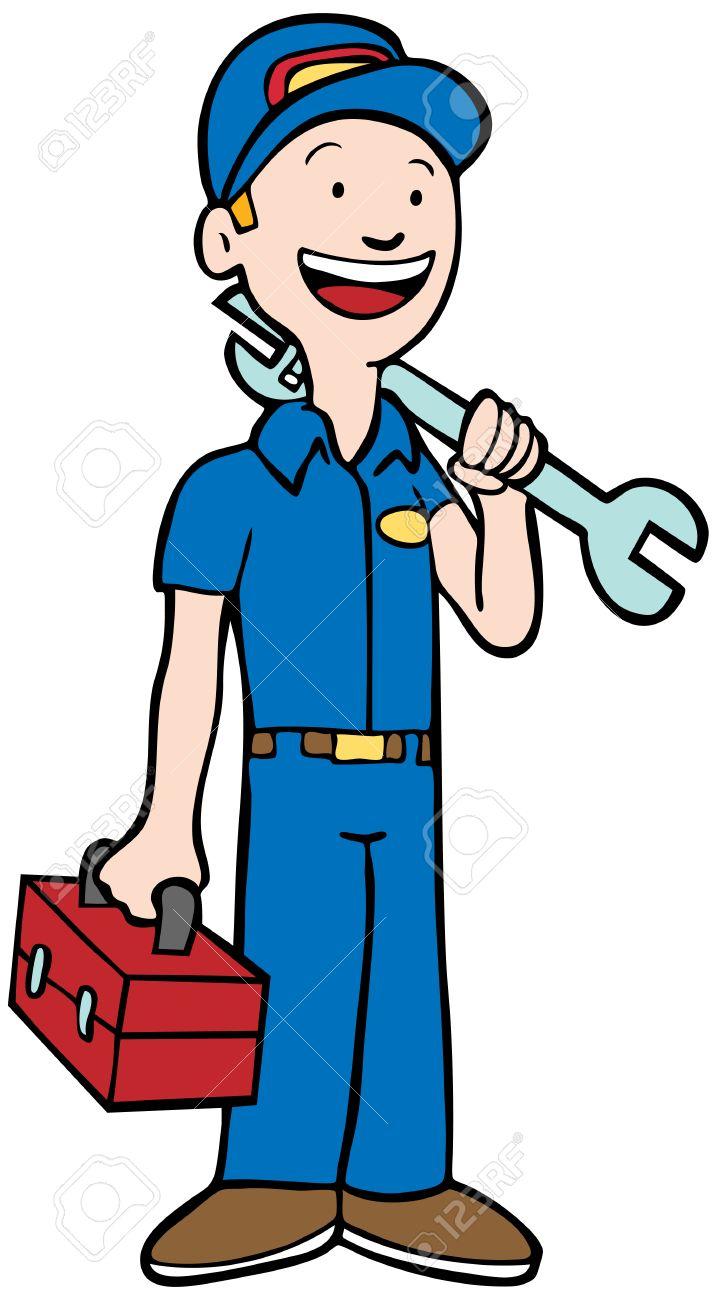 Repairman Cliparts.