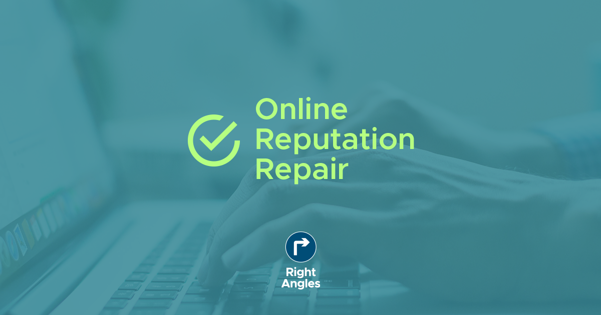 Online Reputation Repair.