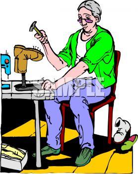Shoe Repair Shop.
