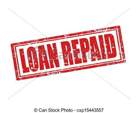 Loan Repayment Clip Art.