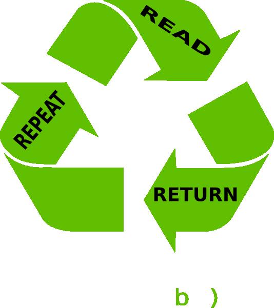 Read Return Repeat Clip Art at Clker.com.