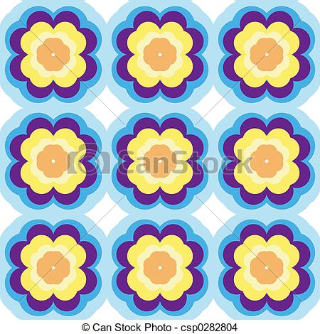 Stock Illustration of Repeated Background.