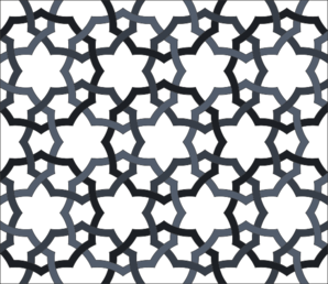 Interlaced Oriental Repeating Pattern Clip Art at Clker.com.