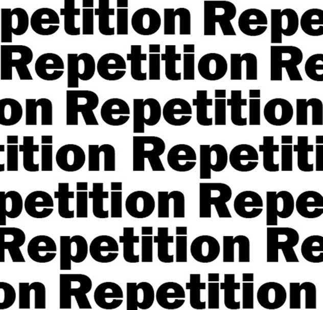 Repetition Clipart.