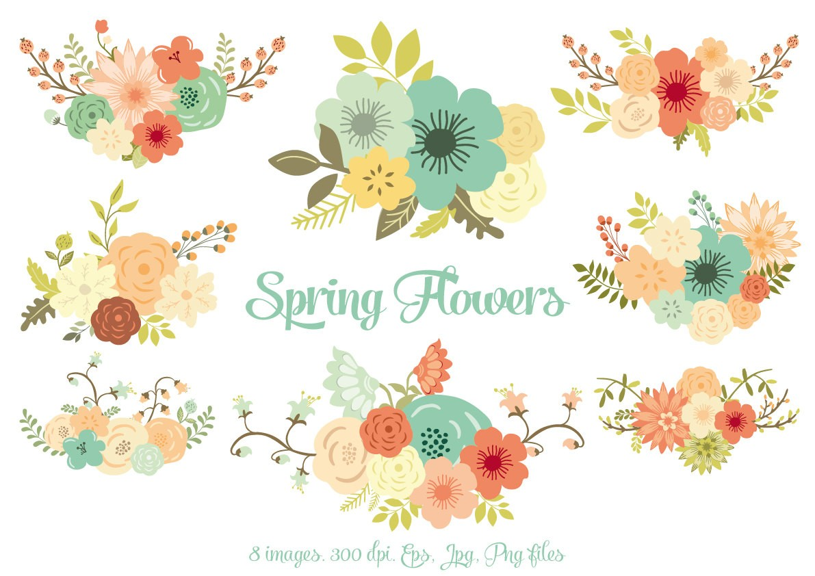 Floral repin image clip art for wedding on.