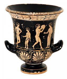 Greek Vase Replica Clip Art Download.
